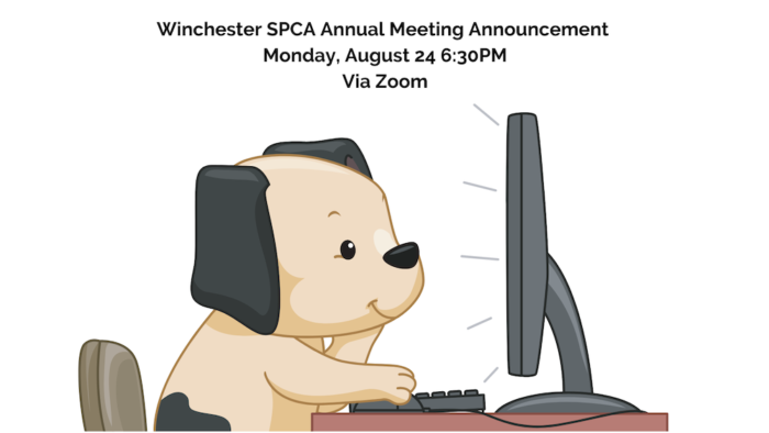 Winchester SPCA Annual Meeting Announcment